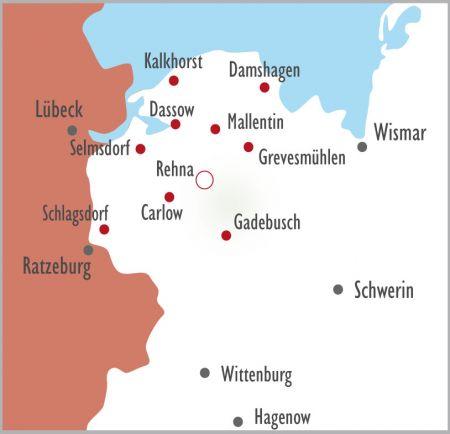 Map Niederlassungen